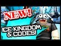 ALL *NEW* ICE KINGDOM CODES!   Roblox Unboxing Simulator