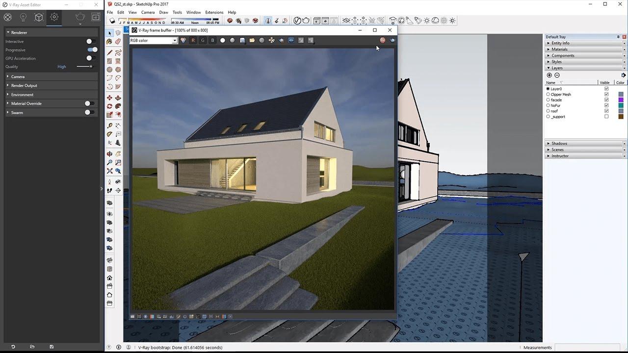 Exterior Lighting QuickStart - V-Ray 3 6 for SketchUp
