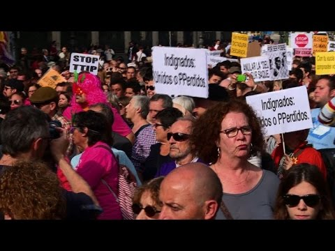 Spain's 'Indignados' march to mark five-year anniversary