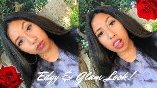 ♡Edgy & Glam Makeup Look ♡ || COLLAB || Ysabella Romasanta ||