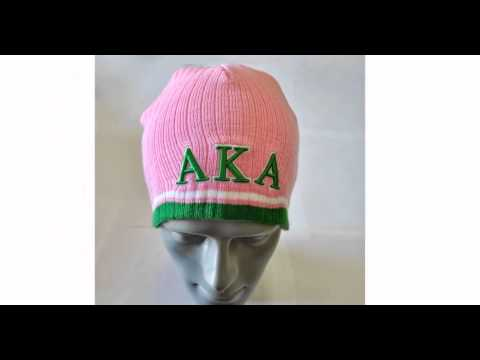 Greek Paraphernalia-Black greek Paraphernalia-Alpha Kappa Alpha Beanie-Aka-aka gifts