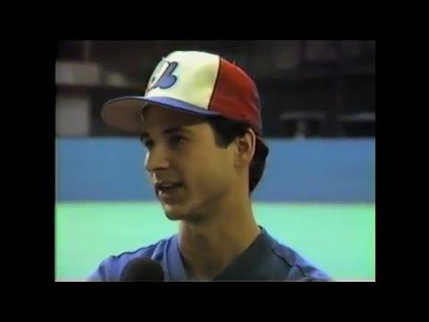 Montreal Expo Terry Francona - 1985