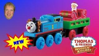 Santa's Little Engine - Thomas & Friends Wooden Railway