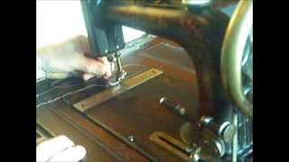 1911 New Home Sewing machine