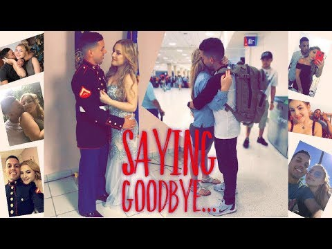 Saying GoodBye Long Distance Relationship (TO MY MARINE)