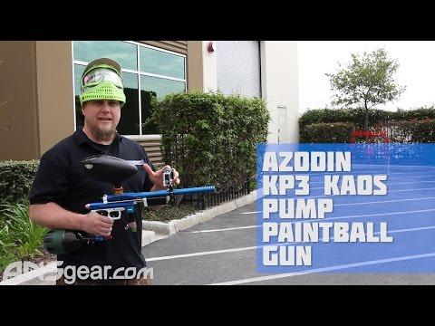 Azodin KP3 Kaos Pump Paintball Gun - Shooting Video