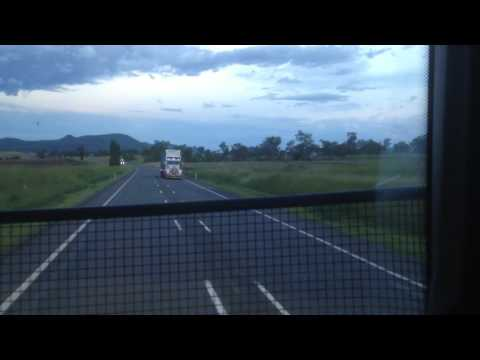 driving from warwick to brisbane 22/12/16