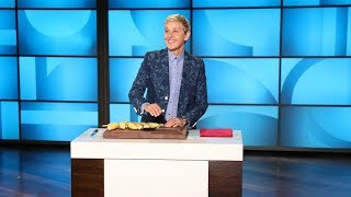 Ellen Has a Few Questions for the Psychic Banana