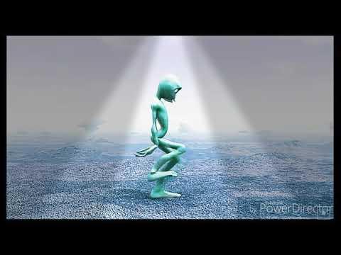 Alien bailando !SCOOBY