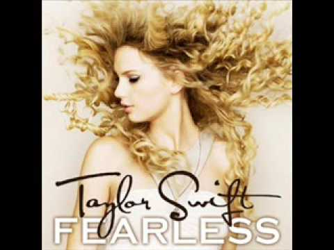13. Change by Taylor Swift with Lyrics (Fearless CD)