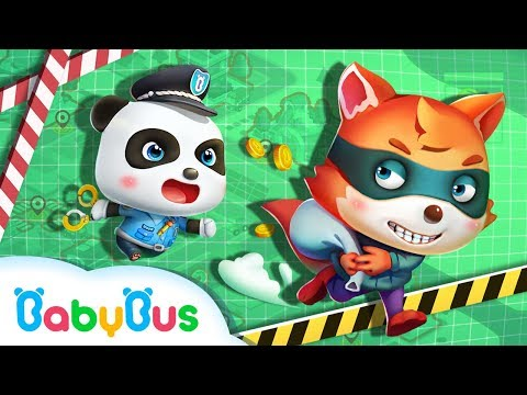Baby Panda Policeman | Baby Panda's New Mission | Kids Role Play | BabyBus
