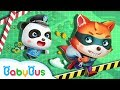 Baby Panda Policeman | Baby Panda's New Mission | Kids Role Play | BabyBus