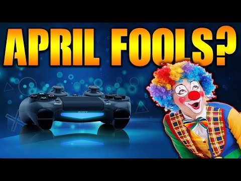 PlayStation April FOOLS Day JOKE 2019? - NEW CEO of SIE SONY