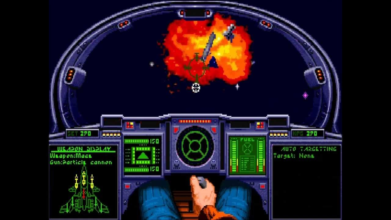 Wing Commander Academy Gameplay Footage Youtube