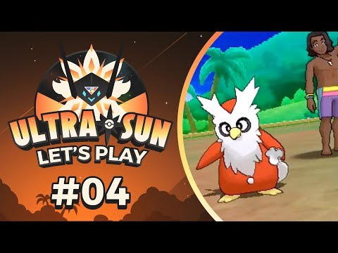 Pokemon UltraSun - EP04 | SURF'S UP