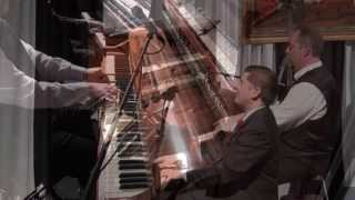 Paul Asaro and Brian Holland at the Old-Time Piano Contest (Peoria, IL)