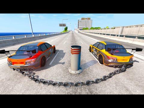 Satisfying Car Crashes Compilation #17 Beamng Drive (Car Shredding Experiment)