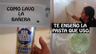 Rapidito de Limpieza: Como lavar la Bañera o Tina de Baño mas facil??