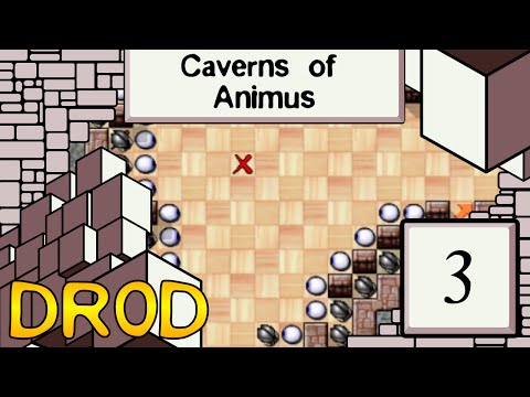 Let's Play DROD! Caverns of Animus - 3