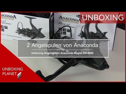 Zwei Angelspulen Anaconda Magist BR-6000 - Unboxing Planet