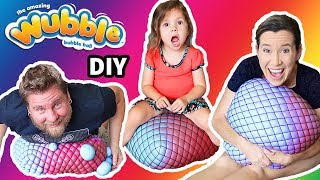DIY GIANT SLIME STRESS BALL WUBBLE - HOW TO MAKE IT