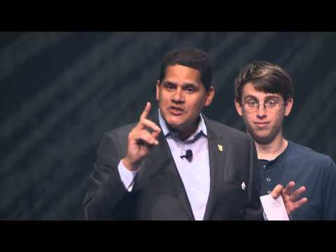 Reggie Fils-Aime wins E3 in Less than One Minute