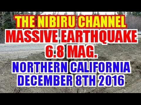 MASSIVE EARTHQUAKE 6.8 MAG.OFF THE COAST OF NORTHERN CALIFORNIA