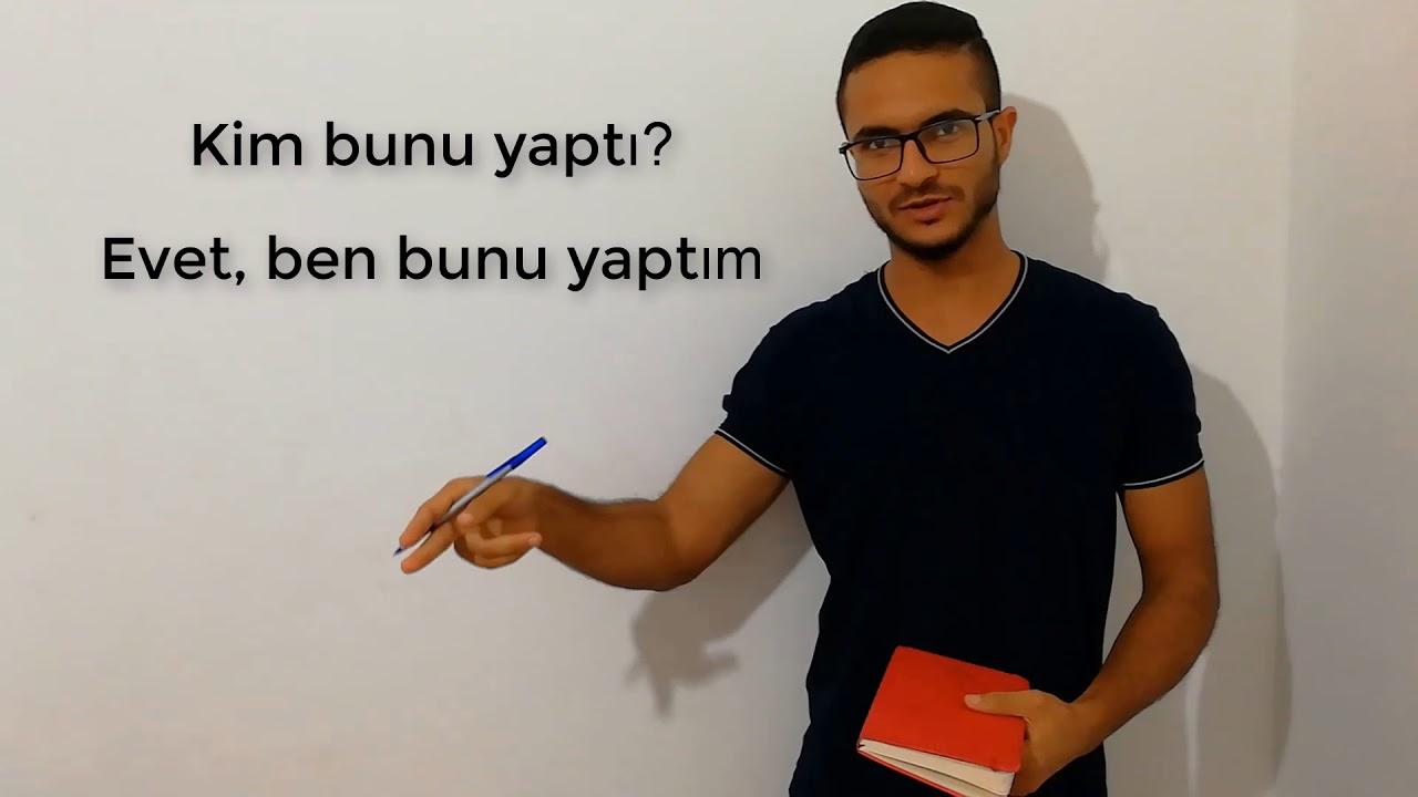 طريقة تكوين الجملة في اللغة التركية مع الأمثلة | الدرس الـ(14)