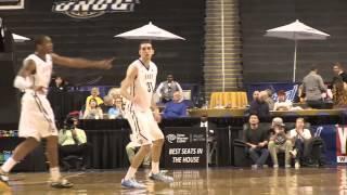 nicholas paulos three pointers 2014 15 uncg men s basketball