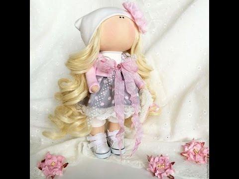 Часть 1.Тильда/Кукла своими руками// How to make a doll ...