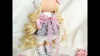 Часть 1.Тильда/Кукла своими руками// How to make a doll tilde?