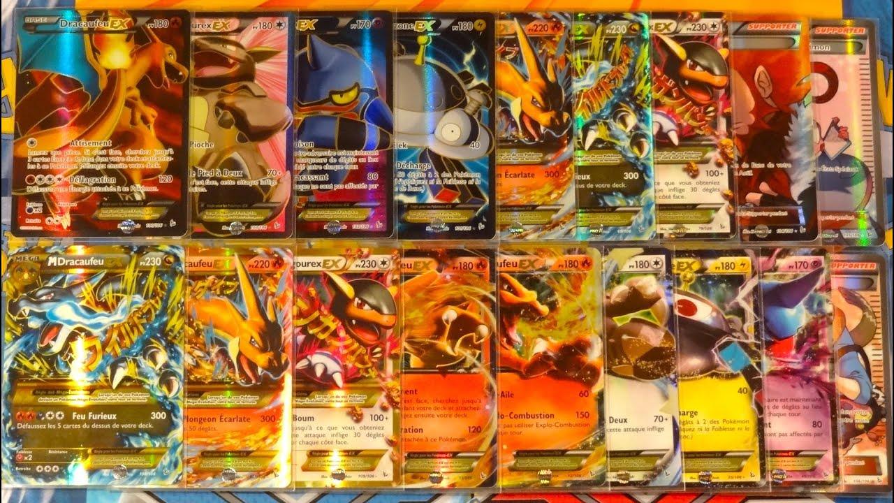 Toutes les cartes pok mon ultra rares de xy 2 etincelles ex full art mega evolution - Tout les carte pokemon ex du monde ...