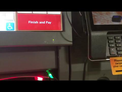 Toshiba Self Checkouts at Wegmans in Fairport NY