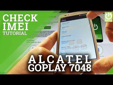 How to Check IMEI in ALCATEL One Touch goPlay 7048X - IMEI Tips