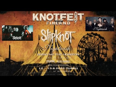 Slipknot announce 1st ever 'Knotfest Finland' w/ Nightwish and BMTH and more!