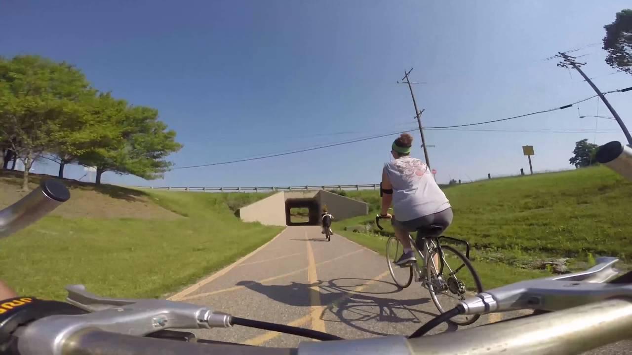 vr bike ride miami whitewater 8 mile trail youtube