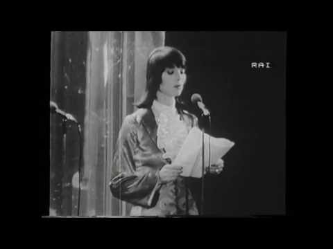 Elsa Martinelli al Festival di Sanremo 1971