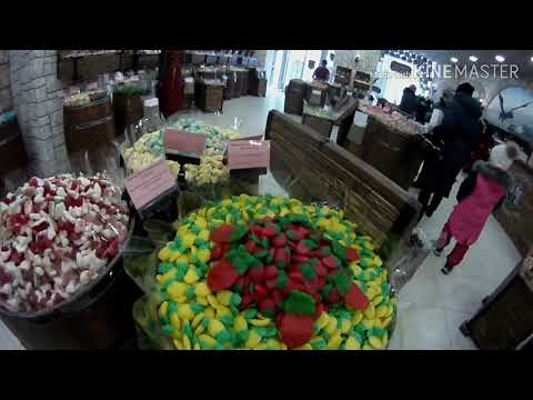 Сладости в бочках Замок Сладостей в Казани