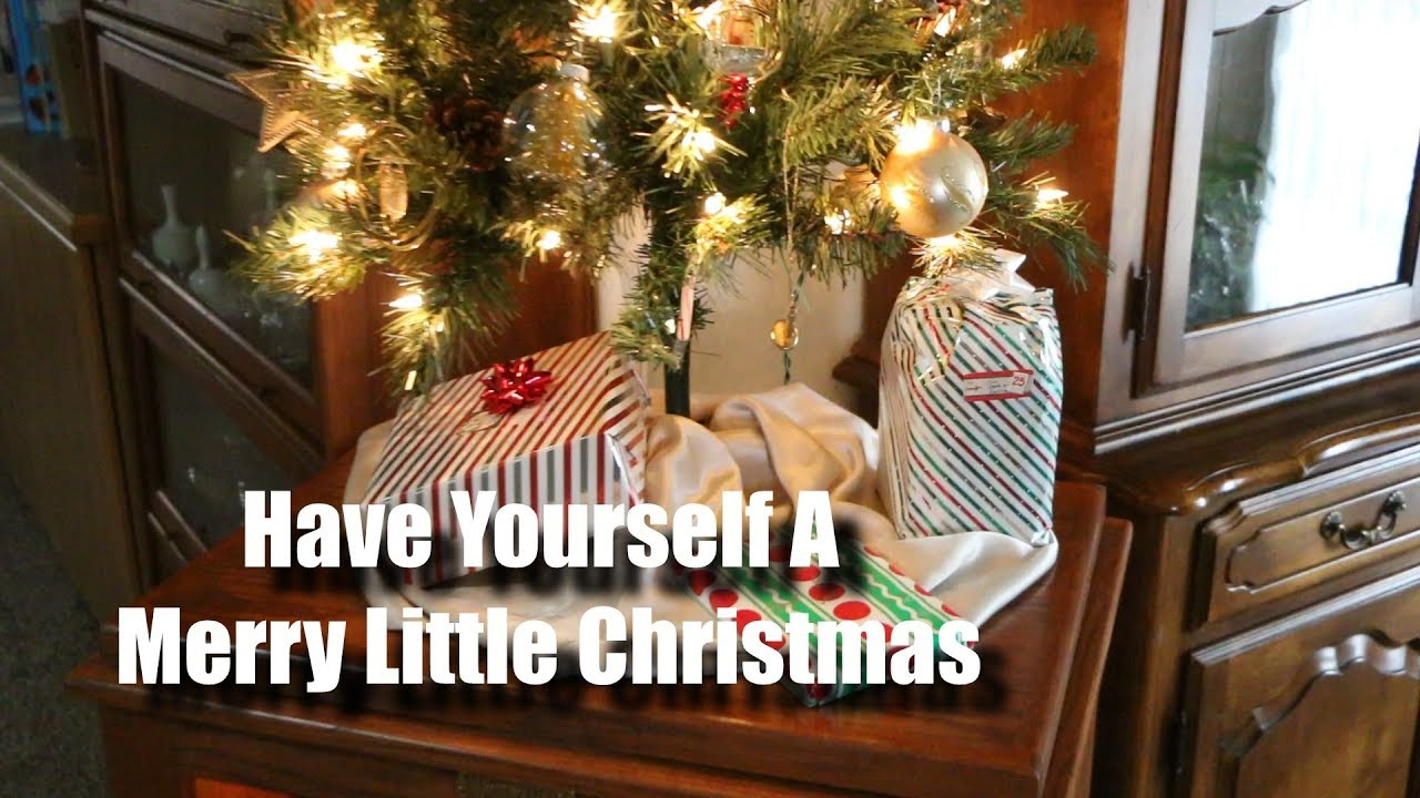 Have Yourself A Merry Little Christmas - Song Example - YouTube