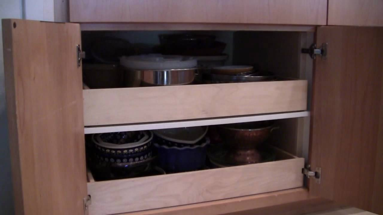 pull out shelves youtube
