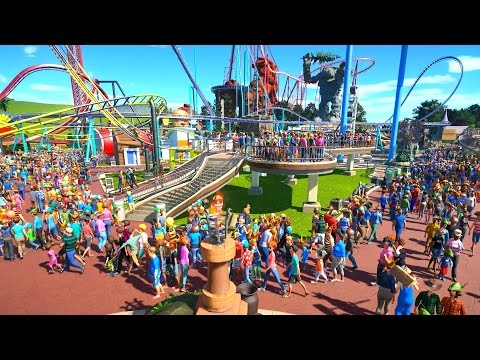 OVER 5000 GUESTS! - PLANET COASTER #15