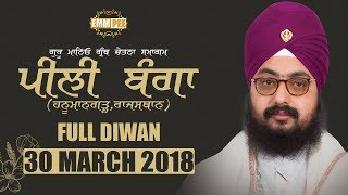Day 2 - FULL DIWAN - PILI BANGAN -RAJASTHAN 29 March 2018