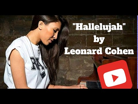 """Solo Pianist Singer Cat performing  """"Hallelujah"""" by Leonard Cohen (Cover)"""