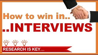4 steps to win in interviews | Animated guide