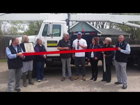 Timber Tree Service Ribbon Cutting Ceremony