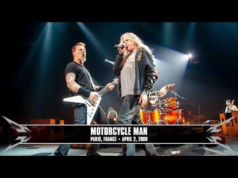 Metallica: Motorcycle Man (w/ Biff Byford) (MetOnTour - Paris, France - 2009) Thumbnail image