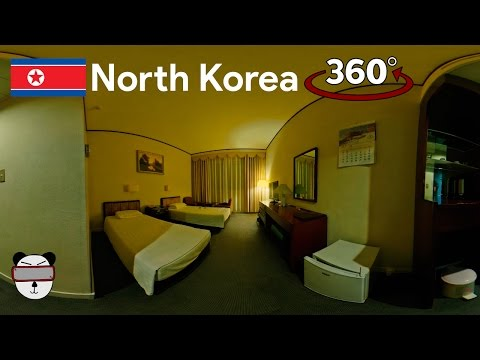 360° Inside North Korea: Yanggakdo International Hotel | Pyongyang, North Korea