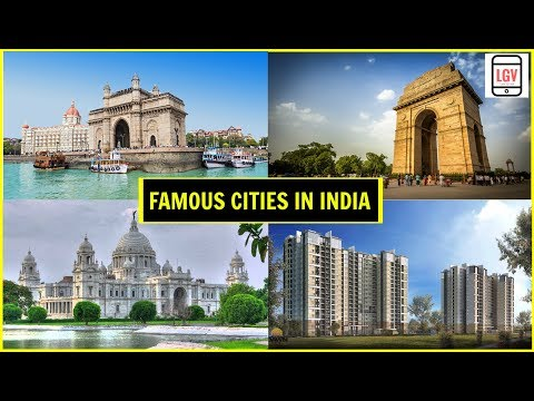 Top 10 Famous Cities in INDIA