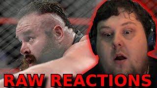 Braun Strowman vs.Big Show  - Steel Cage Match:  : 04/09/2017 : Raw Reaction