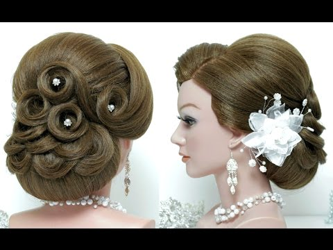 Hairstyle for long hair tutorial.  Wedding updo